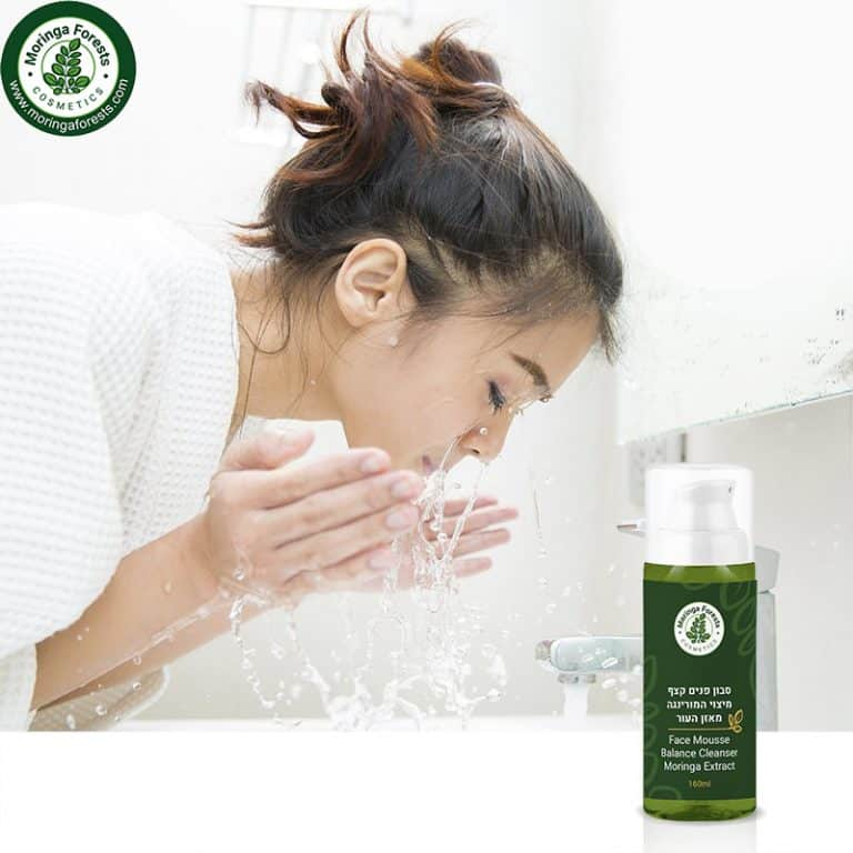 Moringa Extract Face Cleanser Balance Mousse | סבון קצף מנקה לפנים ממיצוי מורינגה